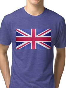The Union Jack Flag Tri-blend T-Shirt