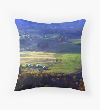 ~Lingering Trees In The Distance...~ Throw Pillow