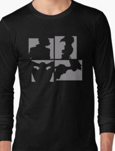 Cowboy Bebop Silhouettes. Long Sleeve T-Shirt