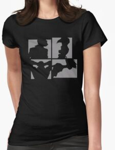 Cowboy Bebop Silhouettes. Womens Fitted T-Shirt