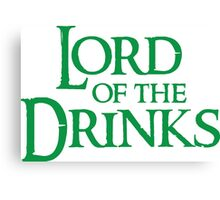 Lord Of The Drinks Canvas Print