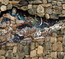 Narragansett Mosiac Mural by owensdp1277