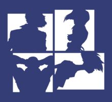 Cowboy Bebop Silhouettes (2nd color). by Bax92