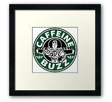 Caffeine Buzz Framed Print