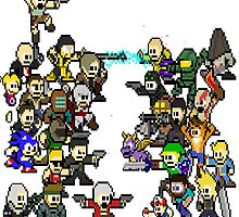 Epic 8 bit Battle! by ramox90