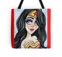 Wonder Caricature Tote Bag