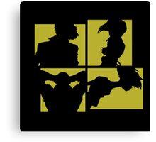 Cowboy Bebop Silhouettes (3nd color). Canvas Print