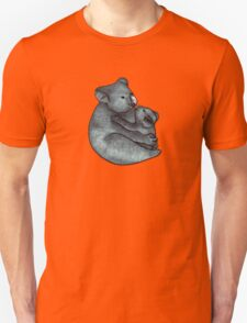 Koalas - a cute hand drawn illustration of a mother koala and her baby Unisex T-Shirt