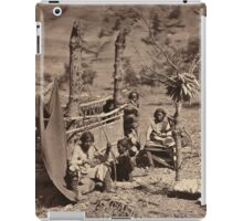 Aboriginal life among the Navajoe Indians. Near old Fort Defiance 1872 iPad Case/Skin