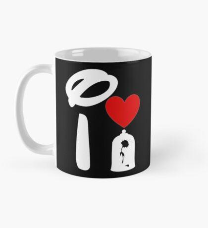 I Heart Beauty and The Beast (Inverted) Mug