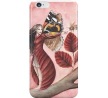 Red Beech Fairy iPhone Case/Skin