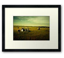 """Oliver"" - McIntosh County, North Dakota Framed Print"