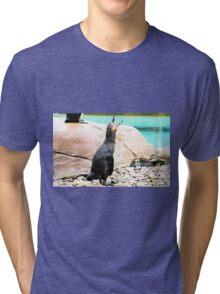 Penguin calling ! Tri-blend T-Shirt