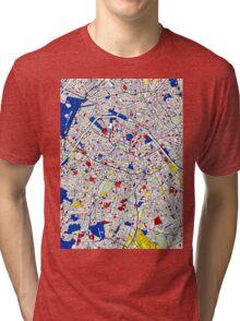 Paris - Mondrian Style Tri-blend T-Shirt
