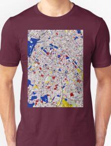 Paris - Mondrian Style T-Shirt