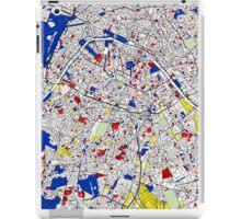 Paris - Mondrian Style iPad Case/Skin