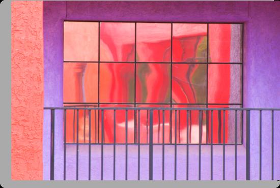 Reflection at La Placita by Habenero
