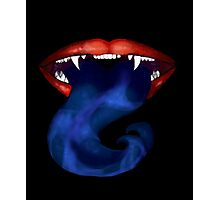 Blue-tongued Carnivore Photographic Print
