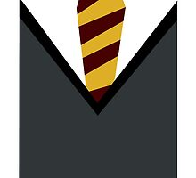 Harry Potter - Gryffindor Tie by maniacreations