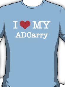 I Love My ADCarry - Black  T-Shirt