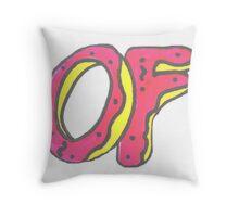 Odd future doughnut  Throw Pillow