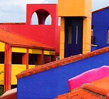 Rooflines at La Placita by Habenero