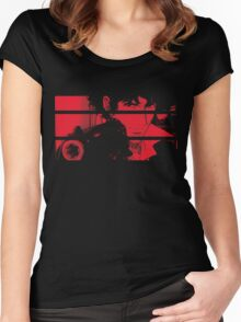 Spike Spiegel. Women's Fitted Scoop T-Shirt