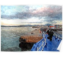 Olbia: port Poster