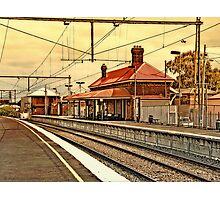 Yarraville Station -- Victoria, Australia Photographic Print
