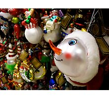 I Want The Snowman! Photographic Print