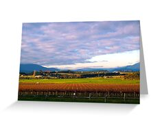 Yarra Valley Winery Greeting Card