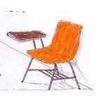 Orange Chair by Tordo