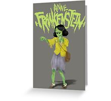Anne Frankenstein Greeting Card