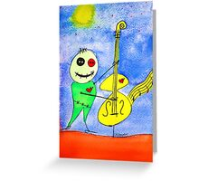 Nacht Musik Greeting Card
