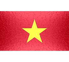 Vietnam flag Photographic Print
