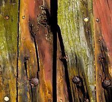 Wooden boat  by M. van Oostrum