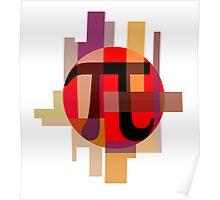 Geometric Pi  Poster