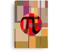 Geometric Pi  Canvas Print