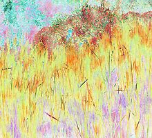 Golden Reeds-Available As Art Prints-Mugs,Cases,Duvets,T Shirts,Stickers,etc by Robert Burns