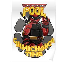 Teenage Mutant Ninja Pool! Poster