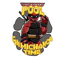 Teenage Mutant Ninja Pool! Photographic Print