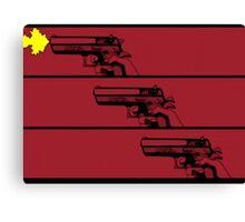 Cowboy Bebop Opening Gun(s). Canvas Print
