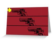 Cowboy Bebop Opening Gun(s). Greeting Card