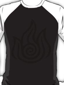 Firebending Black T-Shirt