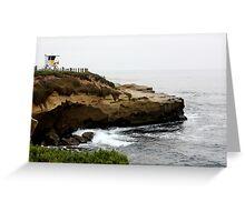 La Jolla Cliffs Greeting Card