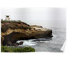La Jolla Cliffs Poster