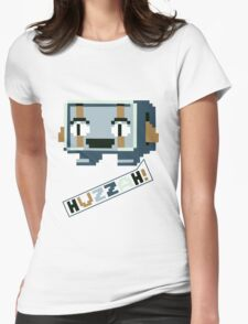 Cave Story - Huzzah! Womens Fitted T-Shirt