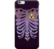 Zelda Triforce heart (v2) iPhone Case/Skin