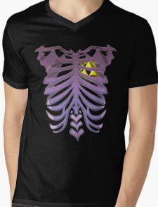 Zelda Triforce heart (v2) Mens V-Neck T-Shirt