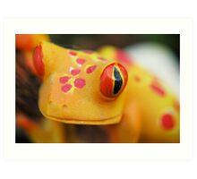 Plastic Froggy Art Print